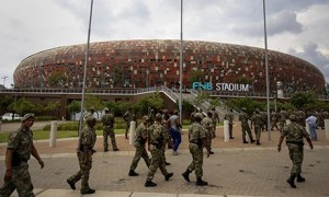 FNB Stadium in Soweto