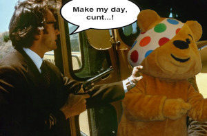 Dirty Harry Pudsey