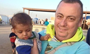British man Alan Henning, currently held hostage by Isis