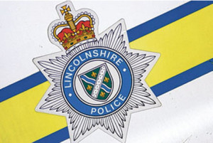 Lincolnshire Police sign, badge, logo