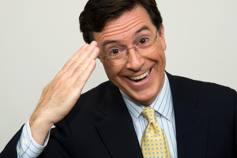 Risultati immagini per Stephen Colbert,