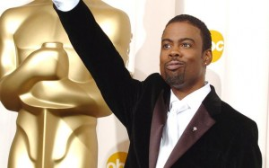 Chris rock salutes the Black Panthers...