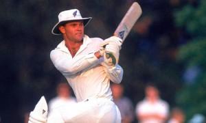 Martin Crowe, former New Zealand cricketer