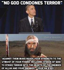 8 obama vs muhammad terror meme