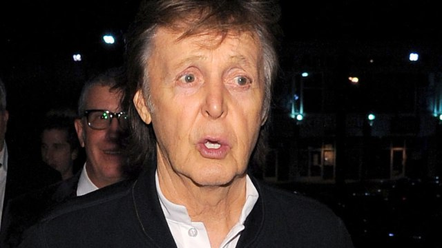Paul Mccartney Grammy Afterparty